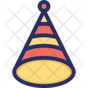 Cone Confetti Popper Icon