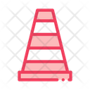 Road Cone Parking Icon