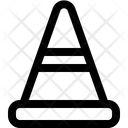 Cone Street Fence Icon