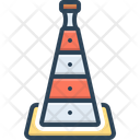 Cone Barrier Hindrance Icon
