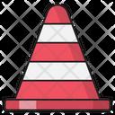 Cone Block Construction Icon