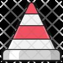 Cone Block Stop Icon