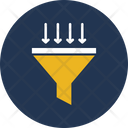 Cone Filter Filtering Method Icon
