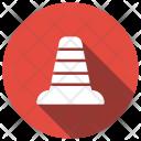 Cone Block Boundary Icon