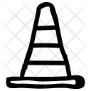 Cone Emergency Block Icon