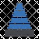 Cone Construction Labor Icon