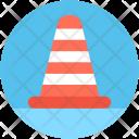 Cone Pin Construction Icon