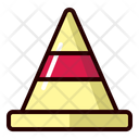 Cone Sign Football Icon