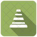 Cone Block Pylon Icon