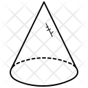 Cone Shape 3 D Icon