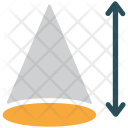 Shape Cone Arrow Icon