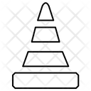 Cone Blockage Block Icon