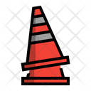 Cone Sign Traffic Construction Icon