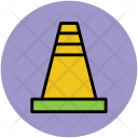 Cone Construction Emergency Icon