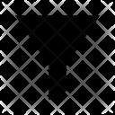 Cone Filter Filtering Icon