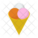 Gelato Ice Cream Dessert Icon