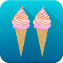 Frozen Food Dessert Icon