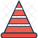 Cone Pin Construction Road Cone Icon