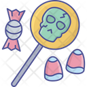 Confectionary Items Halloween Sweets Festival Food Icon