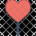 Confectionery Heart Heart Lollipop Icon