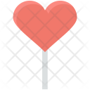Confectionery Heart Lollipop Icon