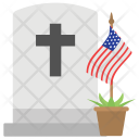 Confederate Memorial Day Icon