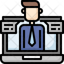 Conference Business Video Icon