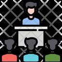 Meeting Teamwork Work Icon