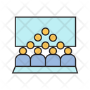 Conference Audience Meeting Icon