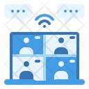 Conference Online Meeting Icon