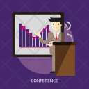 Conference Business Company Icon