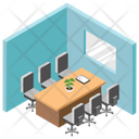 Conference Cabin Icon