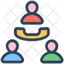 Seo Call Conference Icon