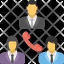 Conference Call Audio Icon