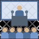 State Meeting Seminar Icon