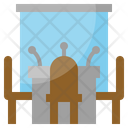 Conference Table Presentation Table Icon