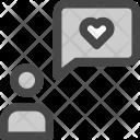 Confession Message Person Icon