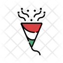 Paper Popper Party Icon