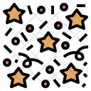 Confetti Paper Star Icon
