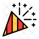 Confetti Popper Cone Icon