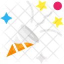 Confetti Popper Celebration Icon