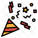Confetti Fun Party Icon