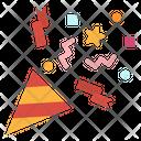 Confetti Fun Party Icon
