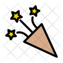 Confetti Party Themepark Icon