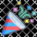 Aconfetti Popper Party Icon