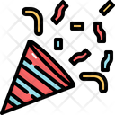 Confetti Celebration Party Icon