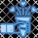 Confetti Joyful Congratulation Icon