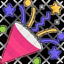 Confetti Party Celebration Icon