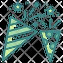 Confetti Celebration Entertainment Icon