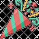 Confetti Party Birthday Icon